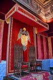 Medieval Throne royalty free stock photos
