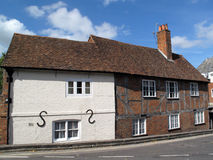 Medieval Timber Framed Cottage Royalty Free Stock Photography