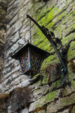 Medieval time ornate lantern Royalty Free Stock Image