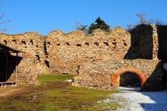 Tocnik castle in Czech Republic. Medieval Tocnik castle in Bohemia, Czech Republic Stock Image