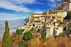 Medieval  Todi , Umbria Royalty Free Stock Images