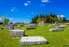 Medieval tombstones in Bosnia and Herzegovina Stock Photos
