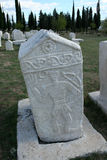 Medieval tombstones Stock Images