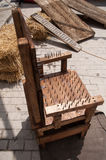 Medieval torture chair Royalty Free Stock Photo