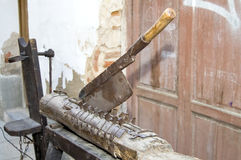 Medieval torture machine Royalty Free Stock Photography