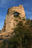 The medieval tower in Balaklava Royalty Free Stock Image