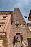 Medieval tower in Bologna Stock Photos