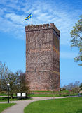 Medieval tower called Karnan in Helsingborg Royalty Free Stock Photo