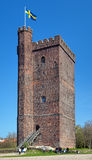 Medieval tower called Karnan in Helsingborg Royalty Free Stock Photography