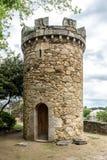 Medieval tower or castle in Santa Cruz, Spain Stock Photo