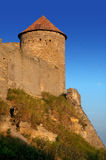 Medieval tower of citadel Belgorod Cetatea Alba Stock Images