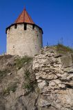 Medieval tower of citadel Bender Royalty Free Stock Photos