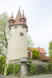 Medieval tower in Germany Royalty Free Stock Photos