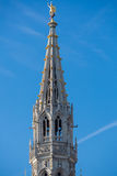 Medieval tower on Grand Place in Brussels Stock Photography