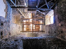 Medieval tower, interior Stock Images