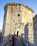 Medieval tower of Kamerlengo castle in Trogir Stock Images