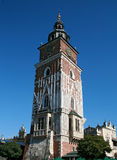 Medieval tower in Krakow Stock Photos