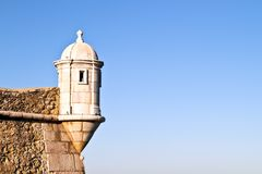 Medieval tower  at Lagos Stock Photography