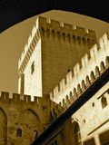 Medieval Tower. The Manor tower of a medieval castle Royalty Free Stock Images