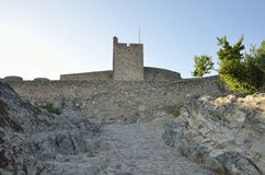 Medieval Tower in Marvao castle Stock Images