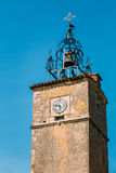 Medieval tower in Menerbes, France Royalty Free Stock Image