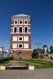 Medieval tower in Nesvizh, Belarus. Royalty Free Stock Image