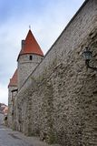 Medieval tower, part of the city wall, Tallinn, Estonia. Medieval tower, part of the city wall, Tallinn Estonia stock images