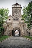 Medieval tower in Rothenburg Royalty Free Stock Photography