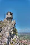Medieval tower in San Marino Royalty Free Stock Photos