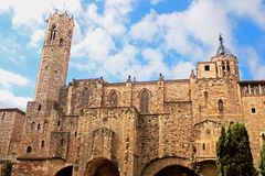 Medieval Tower of Santa Agata Chapel Royalty Free Stock Photography