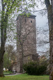 Medieval Tower Villingen-Schwenningen Germa Royalty Free Stock Photography