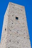 Medieval tower. Viterbo. Lazio. Italy. Stock Image
