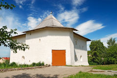 Medieval tower in Vyazma (Russia) Royalty Free Stock Photo