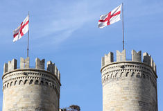 Medieval towers Royalty Free Stock Images