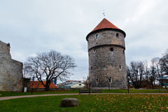 Medieval Towers of Old Tallinn Stock Photos