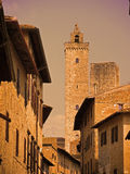 Medieval town Royalty Free Stock Images
