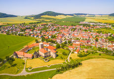 Medieval town. Royalty Free Stock Photography
