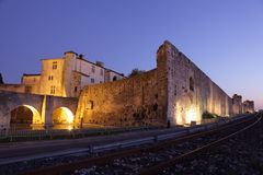 Medieval town Aigues-Mortes, France Stock Photo