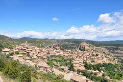 Medieval town of Alquezar in Spain Royalty Free Stock Photography