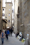 The medieval town of Arezzo, Italy Stock Photo