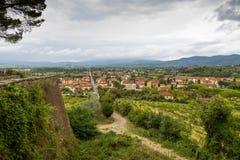 Medieval town Arezzo, Tuscany, Italy Stock Photo
