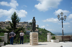 The medieval town of Arpino, Italy Royalty Free Stock Image
