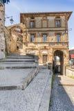 Medieval town of Artena, Lazio, Italy stock photo