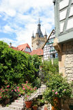 Medieval town of Bad Wimpfen in Germany Stock Photo