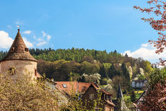 Medieval town Buedingen, Germany Royalty Free Stock Image