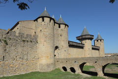 Medieval town Carcassonne Stock Images