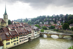 The medieval town centre of Berne Stock Photography