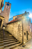 Medieval town in Croatia, Omis. Royalty Free Stock Photography