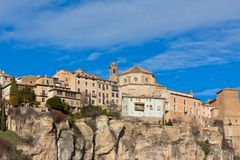 The medieval town of Cuenca Royalty Free Stock Photos