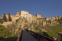 The medieval town of Cuenca, Spain Royalty Free Stock Photo